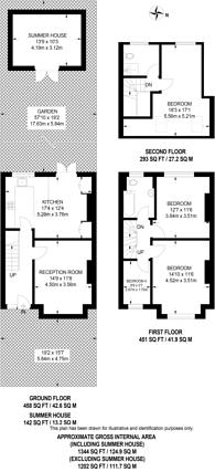 Large floorplan for Girton Road, Sydenham, SE26