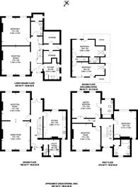 Large floorplan for Claremont Road, Surbiton, KT6