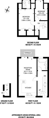 Large floorplan for Radbourne Road, Balham, SW12