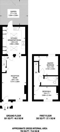Large floorplan for Southgate, Southgate, N14