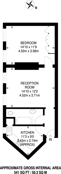 Large floorplan for Mallord Street, Chelsea, SW3