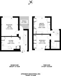 Large floorplan for Argyle House, Isle Of Dogs, E14
