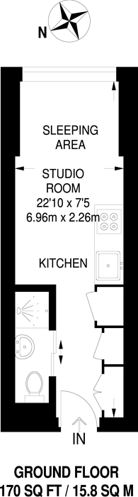 Large floorplan for Chalk Farm Road, Chalk Farm, NW1