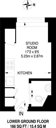 Large floorplan for Chalk Farm Road, Chalk Farm, NW1