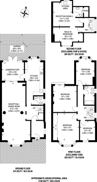 Large floorplan for Dollis Hill Lane, Dollis Hill, NW2