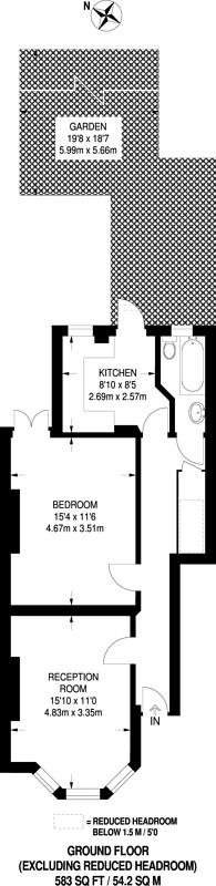 Large floorplan for Geraldine Road, Wandsworth, SW18
