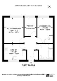 Large floorplan for West Hill Road, Southfields, SW18