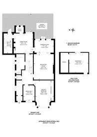 Large floorplan for Newlands Park, Sydenham, SE26