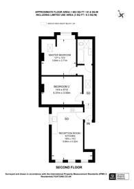Large floorplan for Queens Lane, Muswell Hill, N10