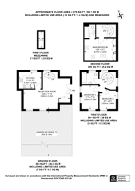 Large floorplan for Burton Close, Norwood, CR7