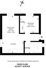 Large floorplan for Carburton Street, Fitzrovia, W1W