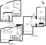 Large floorplan for Eliot Mews, St John's Wood, NW8