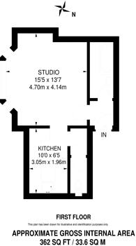 Large floorplan for Effingham Road, Long Ditton, KT6