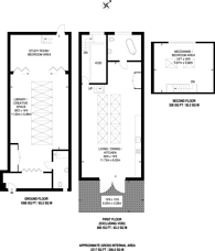 Large floorplan for Warley Close, Leyton, E10