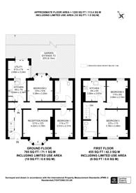 Large floorplan for Lonsdale Road, South Norwood, SE25