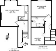 Large floorplan for Farnham Road, Guildford, GU2