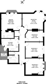 Large floorplan for Ringford House, Wandsworth, SW18