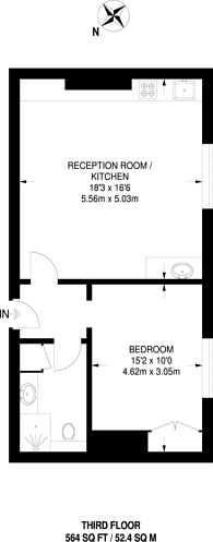 Large floorplan for Jermyn Street, St James's, SW1Y