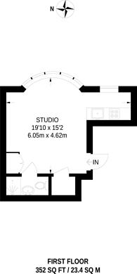 Large floorplan for Gunnersbury Lane, Gunnersbury Triangle, W3