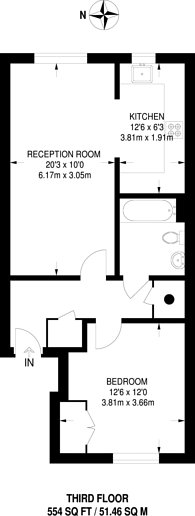 Large floorplan for Holly Street, Dalston, E8