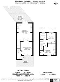 Large floorplan for Bloxham Crescent, Hampton, TW12