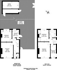 Large floorplan for Maze Hill, Greenwich, SE10