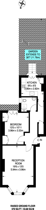 Large floorplan for Redcliffe Street, Chelsea, SW10