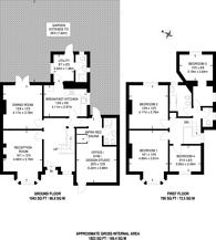 Large floorplan for Westwell Road, Streatham Common, SW16