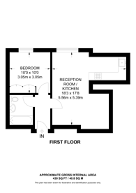 Large floorplan for Park Road, Lisson Grove, NW1