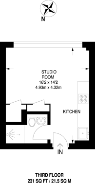 Large floorplan for Elmgrove Road, Harrow, HA1
