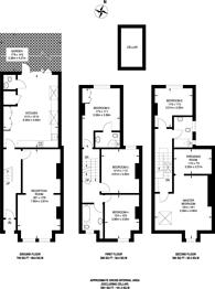 Large floorplan for Glengarry Road, East Dulwich, SE22