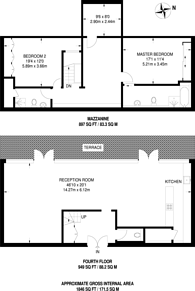 Large floorplan for Chiswick Green Studios, Chiswick, W4