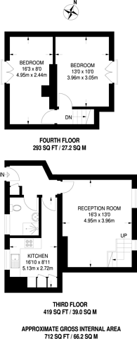 Large floorplan for Ferdinand Place, Chalk Farm, NW1