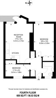Large floorplan for Storrington, Bloomsbury, WC1H
