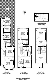 Large floorplan for Rosenthal Road, Catford, SE6
