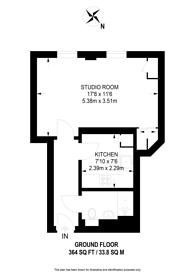 Large floorplan for St Johns Road, Harrow, HA1
