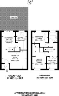 Large floorplan for Mornington Road, Deptford, SE8