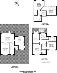 Large floorplan for Wagon Road, Hadley Wood, EN4