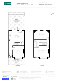 Large floorplan for Selwyn Road, Harlesden, NW10