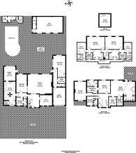 Large floorplan for Roedean Crescent, Roehampton, SW15