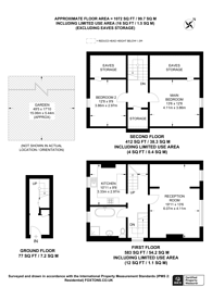 Large floorplan for Parchmore Road, Thornton Heath, CR7