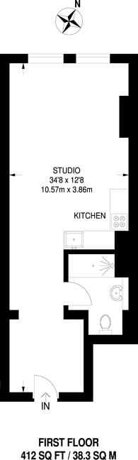 Large floorplan for George Street, Croydon, CR0