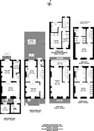 Large floorplan for Chester Row, Belgravia, SW1W