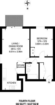 Large floorplan for London Road, Barking, IG11