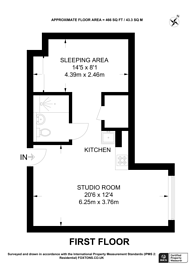 Large floorplan for Staines Road, Hounslow, TW3