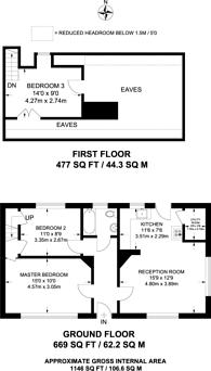 Large floorplan for Friars Gate, Onslow Village, GU2