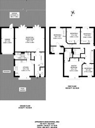 Large floorplan for Daisy Close, Kingsbury, NW9
