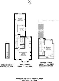 Large floorplan for Leghorn Road, Harlesden, NW10