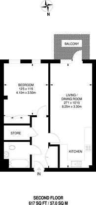 Large floorplan for VIDA, East Acton, W3