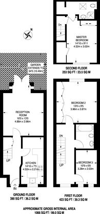 Large floorplan for Leabank Square, Hackney Wick, E9
